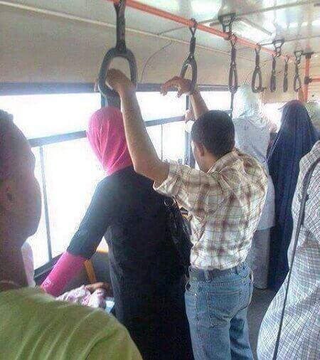 Otobüste Yengeme Dayadım